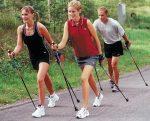 Как называется спортивная ходьба с палками – — , , , , .