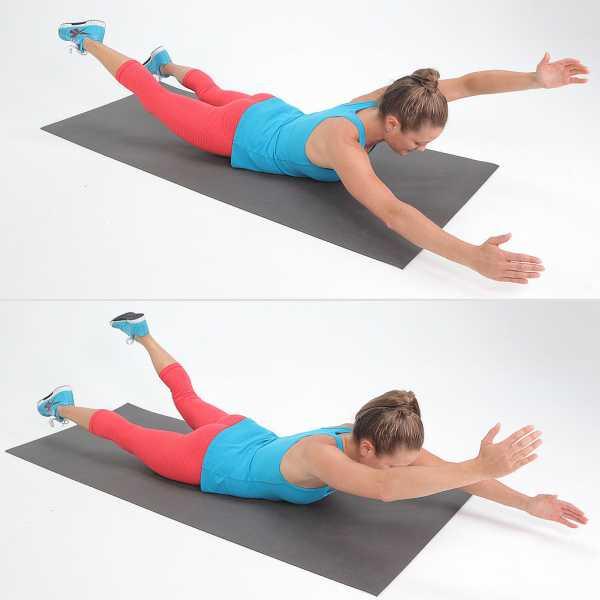 Упражнение для спины в домашних условиях при грыже